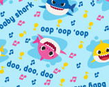 Baby Shark - Music Toss from Springs Creative Fabric