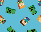 Minecraft - Friends Characters from Springs Creative Fabric