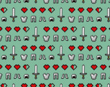 Minecraft - Icons from Springs Creative Fabric