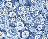 Chinoiserie - Floral Allover by Susan Winget from Springs Creative Fabric