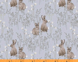 Midsummer - Cotton Tail Rabbit Lt Dusty by Hackney and Co from Windham Fabrics
