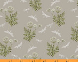 Midsummer - Dancing Mayfly Earthy Grey by Hackney and Co from Windham Fabrics