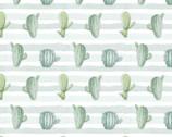 Poly Spandex Knit Prints - Cactus Stripe JERSEY KNIT from David Textiles Fabrics