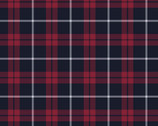 Plaid Flannel Red Black from David Textiles Fabrics