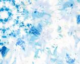 Garden In Summer - Blue Floral Daisy from EE Schenck Fabric
