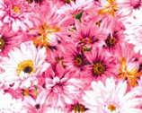 Princess Passion - Tonal Daisy Pink from EE Schenck Fabric