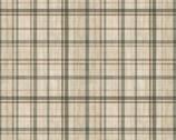 Woodland Chart - Stripes Plaid Beige from David Textiles Fabrics
