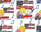 Peanuts - Linus Snoopy Americana from Springs Creative Fabric