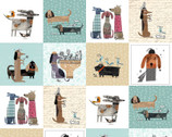 It's Raining Cats and Dogs - Blocks by Terry Runyan from Contempo Studio