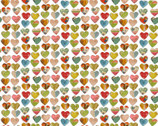 Soul Shine and Daydreams - Large Hearts by Kelly Rae Roberts from Benartex Fabrics