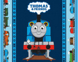 All Aboard with Thomas and Friends - PANEL 36 Inches Blue from Riley Blake Fabric