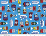All Aboard with Thomas and Friends - Friends Blue from Riley Blake Fabric