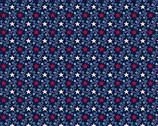 Allegiance - Bramble Stars Blue from Andover Fabrics