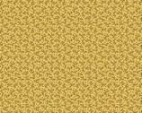 Nana's Flower Garden - Vines Yellow Mustard from Andover Fabrics
