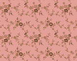 Nana's Flower Garden - Floral Vine Pink from Andover Fabrics