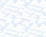 April Showers - Cloudy Clouds Sky Blue from Andover Fabrics
