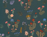 Arid Wilderness - Prickly Florals by Louise Cunningham from Cloud 9 Fabrics