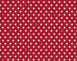Harry and Alice Go to the Sea - Polka Dots Red from Riley Blake Fabric