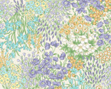 Nostalgic Garden - Floral Meadow Pale Yellow from Elite Fabric