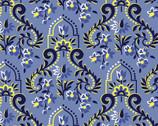 Somerset - Baroque Blue from Benartex Fabrics