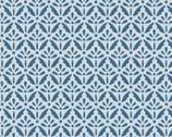 Home Grown - Floral Sprig  Multi Blue from Benartex Fabrics