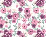 Poly Spandex KNIT Prints - Flowers from David Textiles Fabrics