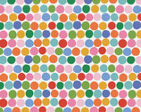 Food Face - Rainbow Dots by Corinne Lent from Paintbrush Studio Fabrics