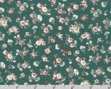Rayon Crinkle - Little Flower Bundles Toss Sage by Sunset Studio from Robert Kaufman Fabric