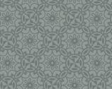 Home Grown - Medallion Floral Grey from Benartex Fabrics