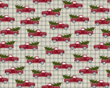 A Jingle Bell Christmas - Truck Holidays Steel from Benartex Fabrics