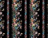 Meadow Edge- Meadow Border Black from Maywood Studio Fabric