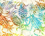 Bali Hawaii Batiks - Pineapples Cream from Benartex Fabrics