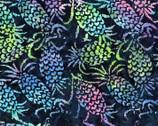Bali Hawaii Batiks - Pineapples Dark from Benartex Fabrics