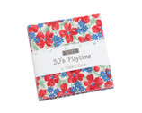 30s Playtime CHARM Pack by Chloe's Closet from Moda Fabrics