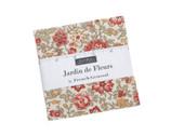 Jardin de Fleurs CHARM Pack by French Garden from Moda Fabrics