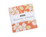 Strawberries Rhubarb CHARM Pack by Fig Tree from Moda Fabrics