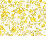 Nostalgic Garden - Yellow Floral Pale Yellow from EE Schenck Fabric