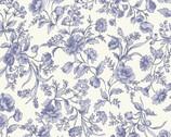 Nostalgic Garden - Floral Purple Lavender from EE Schenck Fabric