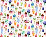 Chef's Table - Ice Cream Multi from Dear Stella Fabric