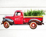 Christmas Loads of Cheer Red Truck PANEL 36 Inch from Springs Creative Fabric