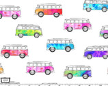 Good Vibes Only - Magic Bus White from Michael Miller Fabric