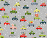 Joy - Cars Grey from Makower UK  Fabric