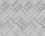 Century Black on White - Bias Checkerboard from Andover Fabrics