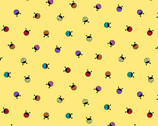 Hoot Hoot - Lady Bug Morning Yellow from Andover Fabrics