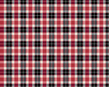 Woodland Winter - Classic Plaid Tartan by Two Can Art from Andover Fabrics