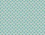 Annabella - Flowers and Beans Teal from Andover Fabrics