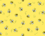 Bumble Bee - Bees Yellow from Andover Fabrics