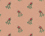 Annes English Scrapbox - First Rose Rose Pink by Di Ford-Hall from Andover Fabrics