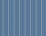 Apple Pie - Stripes Med Blue from Andover Fabrics