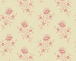 Braveheart -  Fan Flower Ecru by Laundry Basket Quilts from Andover Fabrics